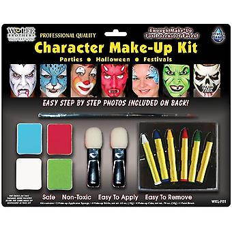 Charakter Make-up Kit Wolfe Bro