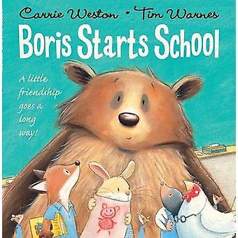 كتاب المدارس يبدأ بوريس حسب كاري ويستون-تيم Warnes-9780192758323