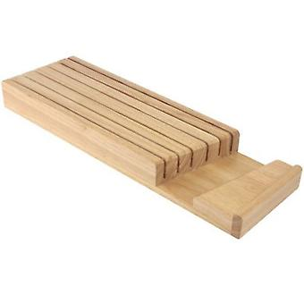 Wooden Drawer Knife Tray Rack Knife Store