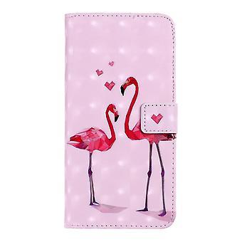 Samsung Galaxy S10 Monedero Caso-Flamingo