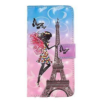 Samsung Galaxy S10 Portafoglio Caso-Eiffel Torre