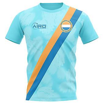 2020-2021 הולנד משם חולצת המושג כדורגל-ילדים קטנים