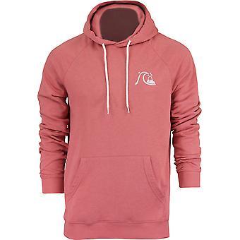 Quiksilver para hombre B Logo polar jersey con capucha - polvo de cedro rojo