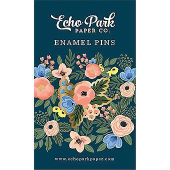 Echo Park Fancy Flora Emaille Pin