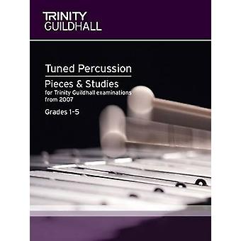 Percussion Exam Pieces & Studies Tuned Percussion - Grades 1-5 by Trin