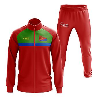 Eritrea Concept Football Tracksuit (Red)
