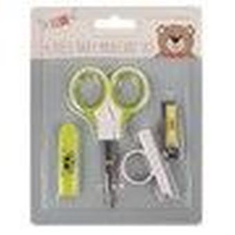 Little Stars 4 Piece Baby Manicure Set - Yellow