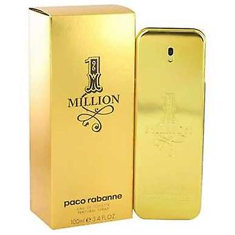 1 Million By Paco Rabanne Eau De Toilette Spray 3.4 Oz (men) V728-453437