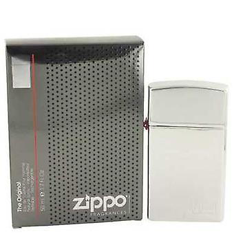 Zippo Original de Zippo Eau De Toilette Spray Refillable 1.7 Oz (hommes) V728-531906