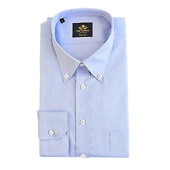 Thomas mason royal oxford light blue shirt