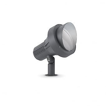 Ideal Lux Terra Single Post Light Big Anthracite