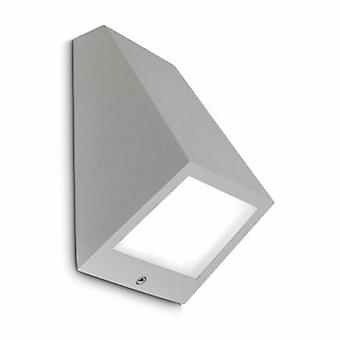 Led Outdoor Large Wall Light Grey Ip54