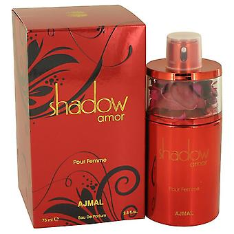 Shadow amor eau de parfum spray mennessä ajmal 538903 75 ml