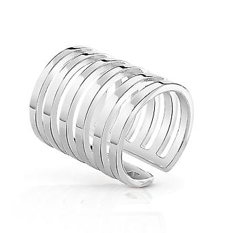 Guess mujer Acero inoxidable anillo size 12 UBR84010-52