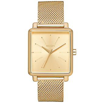 Nixon k squared milanese Japanese Quartz Analog Woman Watch with A1206502 Stainless Steel Bracelet