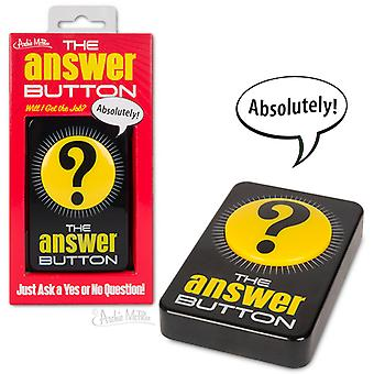Character Goods - Archie McPhee - Button - Answer - 12801