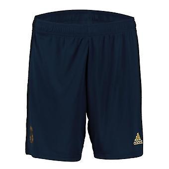 2019-2020 Real Madrid Adidas Away Shorts (Navy)