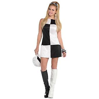 Amscan Adult Black & White Costume (Babies and Children , Costumes)