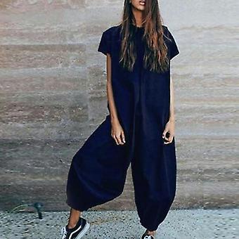 Casual Overalls Elegant  Plus Size Jumpsuit