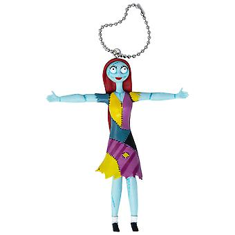Nightmare Before Xmas Sally Bendable Keychain