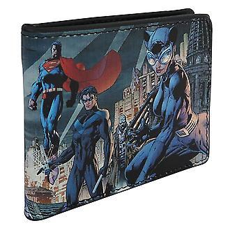 Batman Hush #619 täcka män ' s BI-Fold plånbok