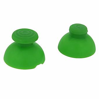 Analog thumbstick & c-stick for nintendo gamecube controller replacement sticks   / green