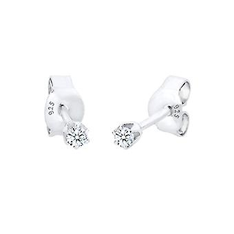 Diamore Silver Women's Pin Earrings 925