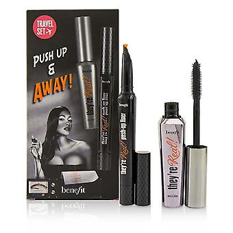 Benefit They're Real Push Up & Away Set - 2pcs