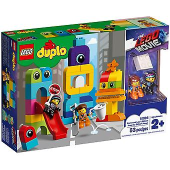 LEGO 10895 Visite for Emmet and Lucy of the DUPLO planet