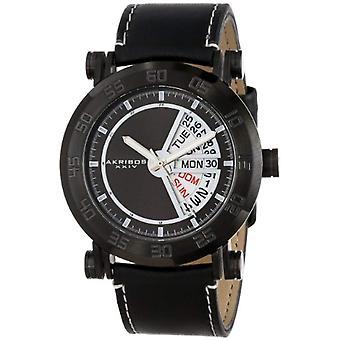 AK552BK Akribos メンズ腕時計