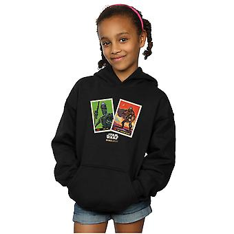 Star Wars Girls The Mandalorian Trading Cards Hoodie