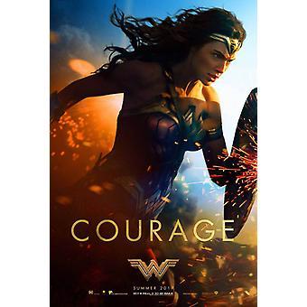 Wonder Woman Original Movie Poster – Courage Shield Style D