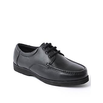Chums Mens Leather Lightweight Laceup Shoe