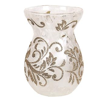 Aroma Gold Scroll Wax Melt Burner