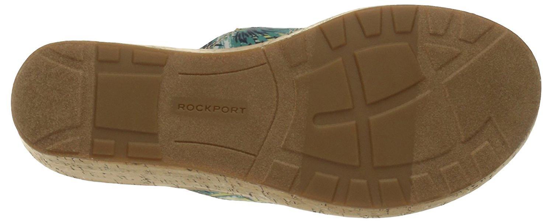 Rockport Womens lanea gore Leather Split Toe Casual Platform Sandals DSh323