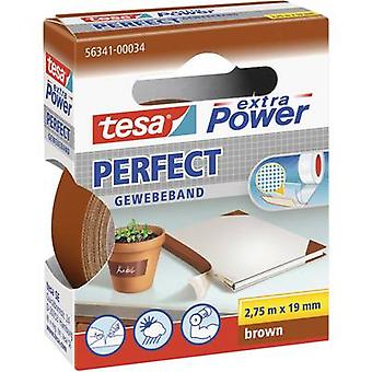 tesa 56341-34-2 Kangasteippi tesa® Extra Power Brown (L x W) 2,75 m x 19 mm 2,75 m