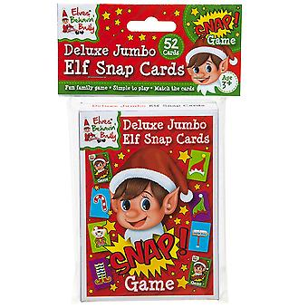 Christmas Shop Elf Snap Card Game