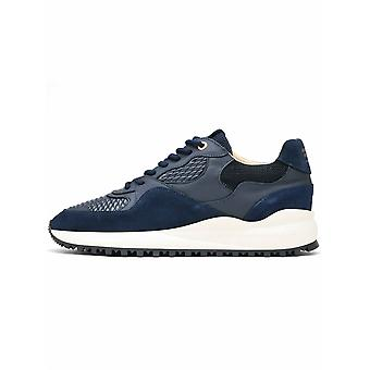 Android Homme Android Homme Santa Mónica Navy Leather Sneaker