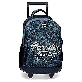 Roll Road Palm Backpack - 43 cm - Blue (Azul)