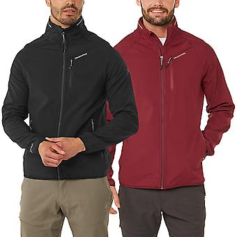 Craghoppers Mens Baird Softshell Full Zip Fleece Jacket