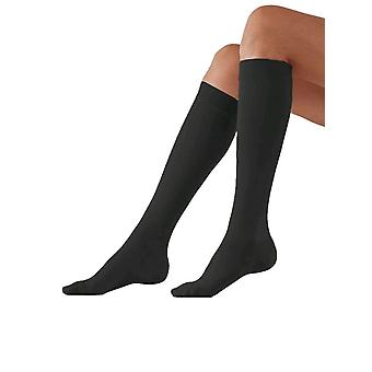 Varisan Top Short Length Support Knee Highs [Style 623E1] Black  Size 5