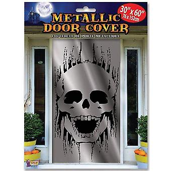 Schedel deur cover metallic
