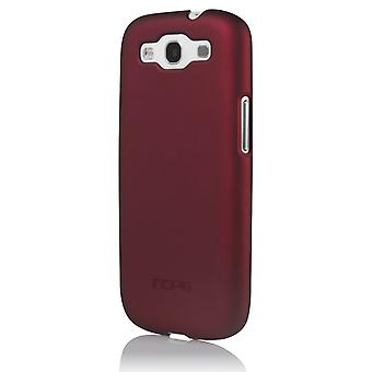 Incipio Ultra-Light Feather Case for Samsung Galaxy S3 - Iridescent Red