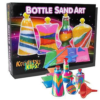 Arte con arena la botella Kreative Kids
