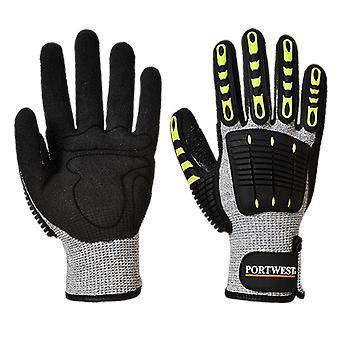 Portwest anti impact cut resistant thermal glove a729