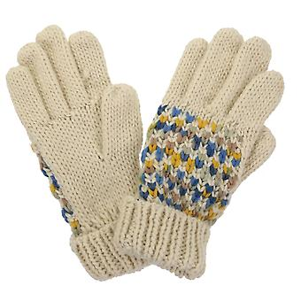 Regatta Women's Frosty III Knitted Gloves Light Vanilla S/M