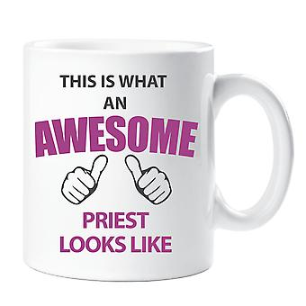 This Is What An Awesome Priest Looks Like Mug