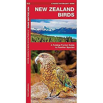 New Zealand Birds: A Folding Pocket Guide to Familiar Species (Pocket Naturalist Guide)