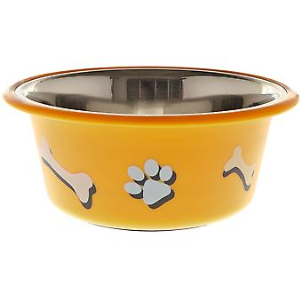 Ferribiella Bowl Paw And Bone 0,40Lt.  (Dogs , Bowls, Feeders & Water Dispensers)