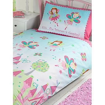 Princess is Sleeping Duvet Cover and Pillowcase Set